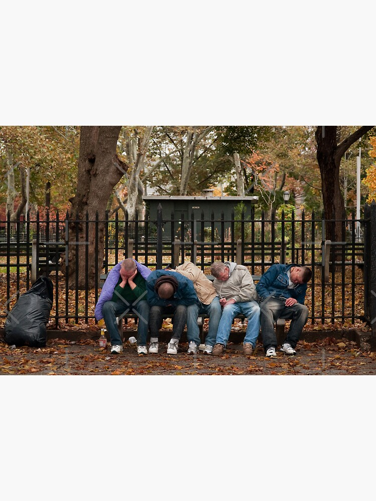 McGolrick Park - 5 Sleeping Men by Bastianelli