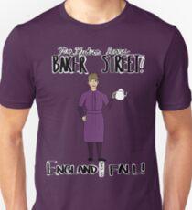 Mrs. Hudson (Dark Colors)  Unisex T-Shirt