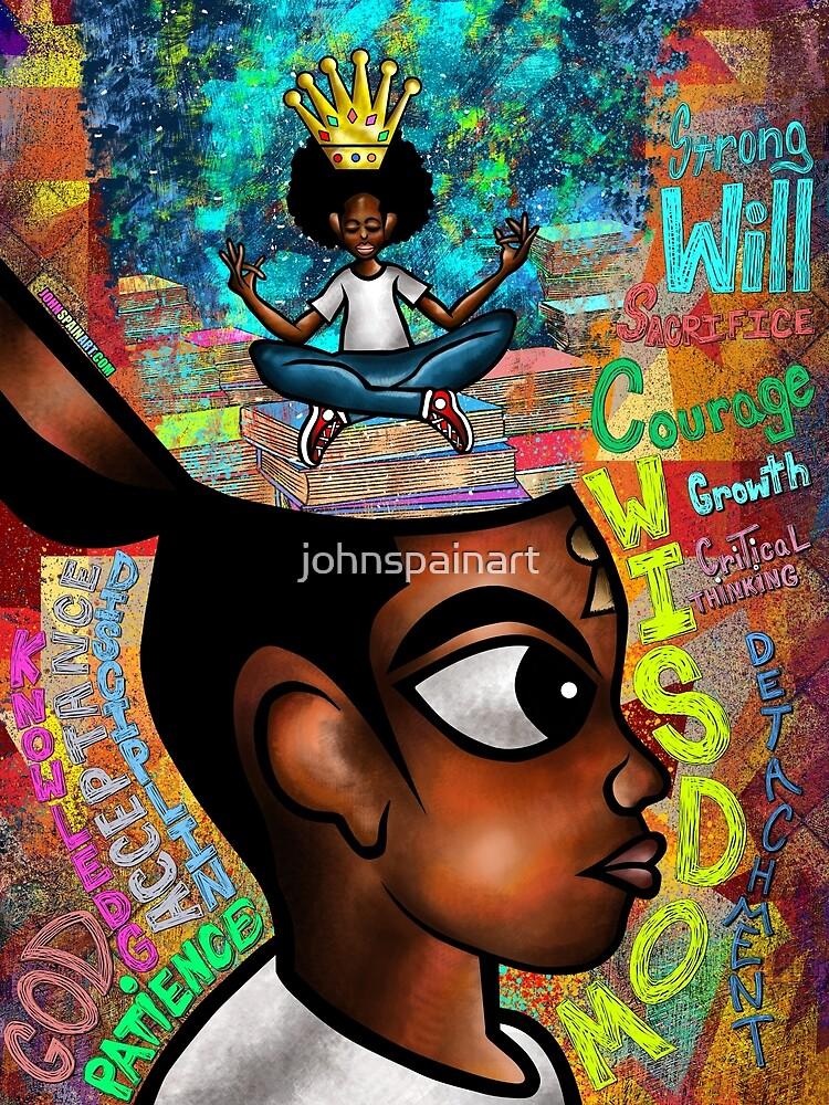 Young, Black & Intelligent (I.M.M Vol.3) by johnspainart