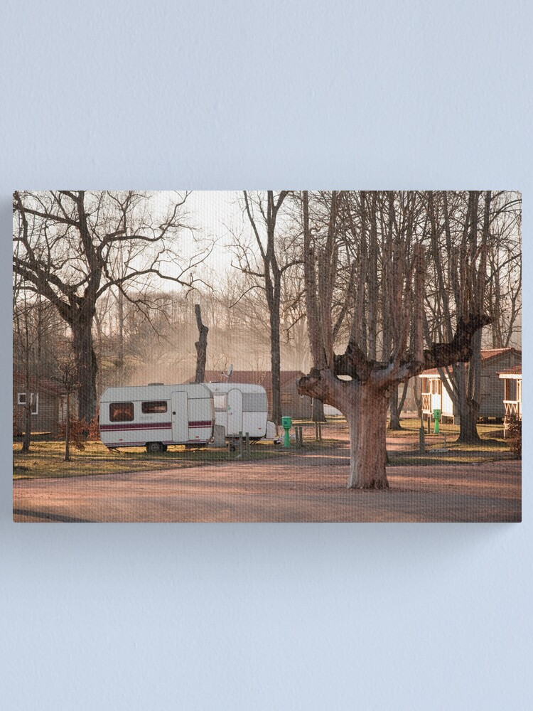 Alternate view of Gypsy Camp - France Canvas Print