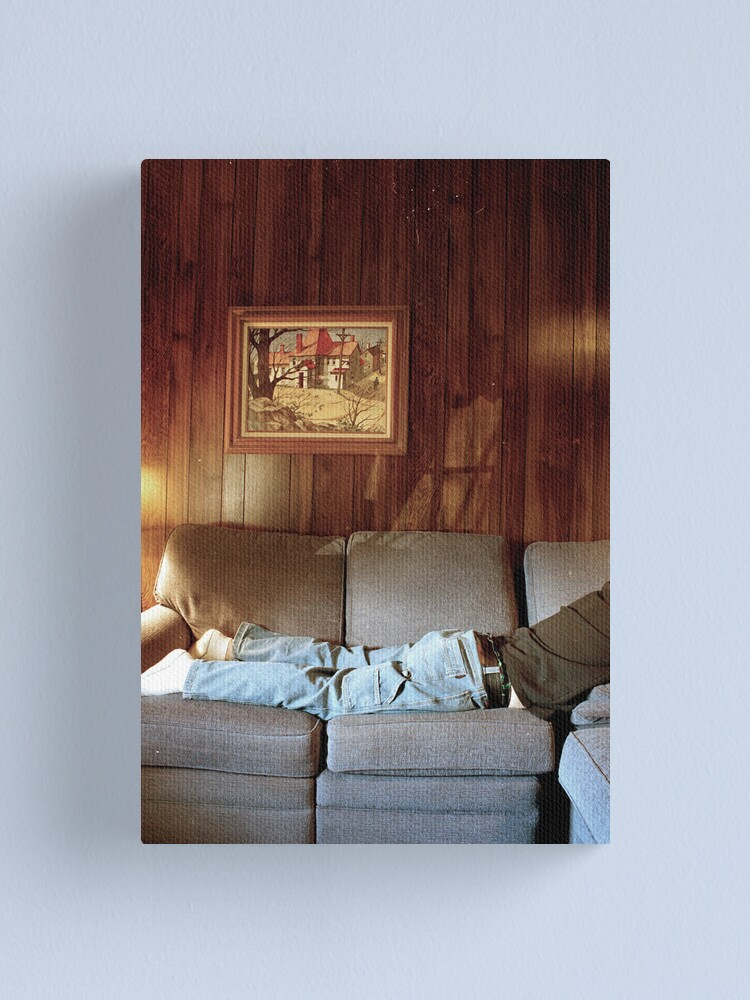 Alternate view of Aunt Jeanne's Couch Canvas Print