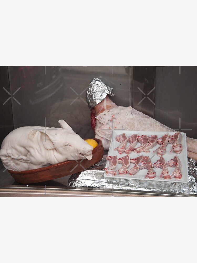 Meat Display - Pig by Bastianelli