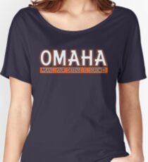"""VICTRS """"OMAHA"""" Women's Relaxed Fit T-Shirt"""
