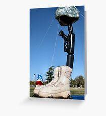 Battlecross Memorial Greeting Card
