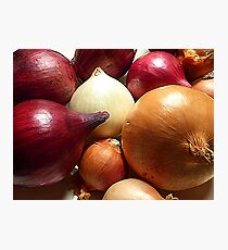 Do You Know Your Onions!! Photographic Print