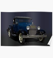 1928 Ford Model A Pickup Truck Poster