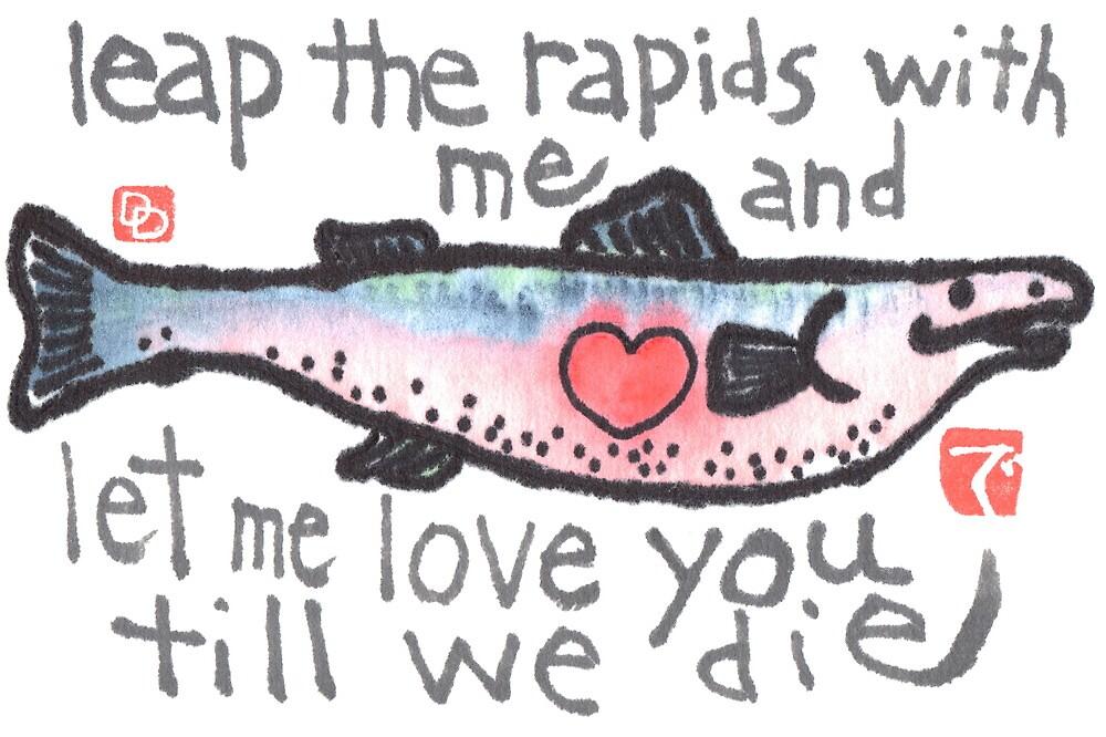 Salmon Love by dosankodebbie