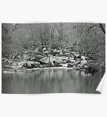 Unami Creek  Green Lane  Pennsylvania  USA Poster