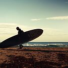 Scandinavian Surfer by Andreas Stridsberg