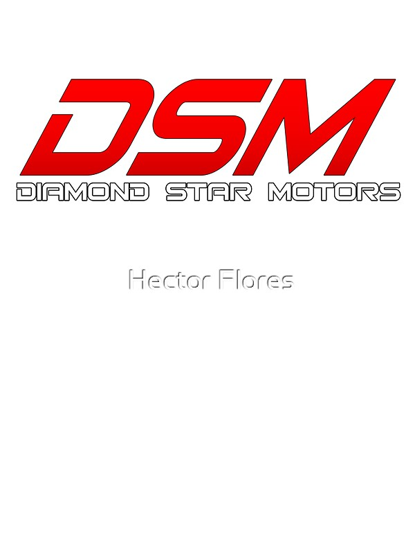 Dsm Diamond Star Motors D1 Stickers By Hector Flores