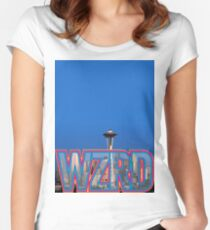 WZRD Seattle Women's Fitted Scoop T-Shirt