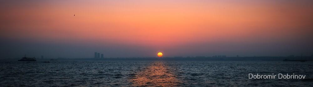 Sunset over Prince island by Dobromir Dobrinov