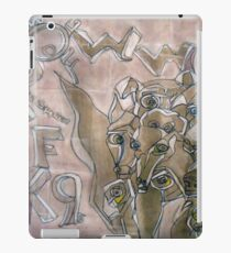 K9 Graffitti iPad Case/Skin