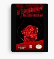 Elm Street NES Canvas Print