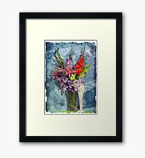 Flowers for a Lady Framed Print
