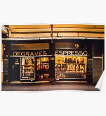 Degraves Espresso Poster