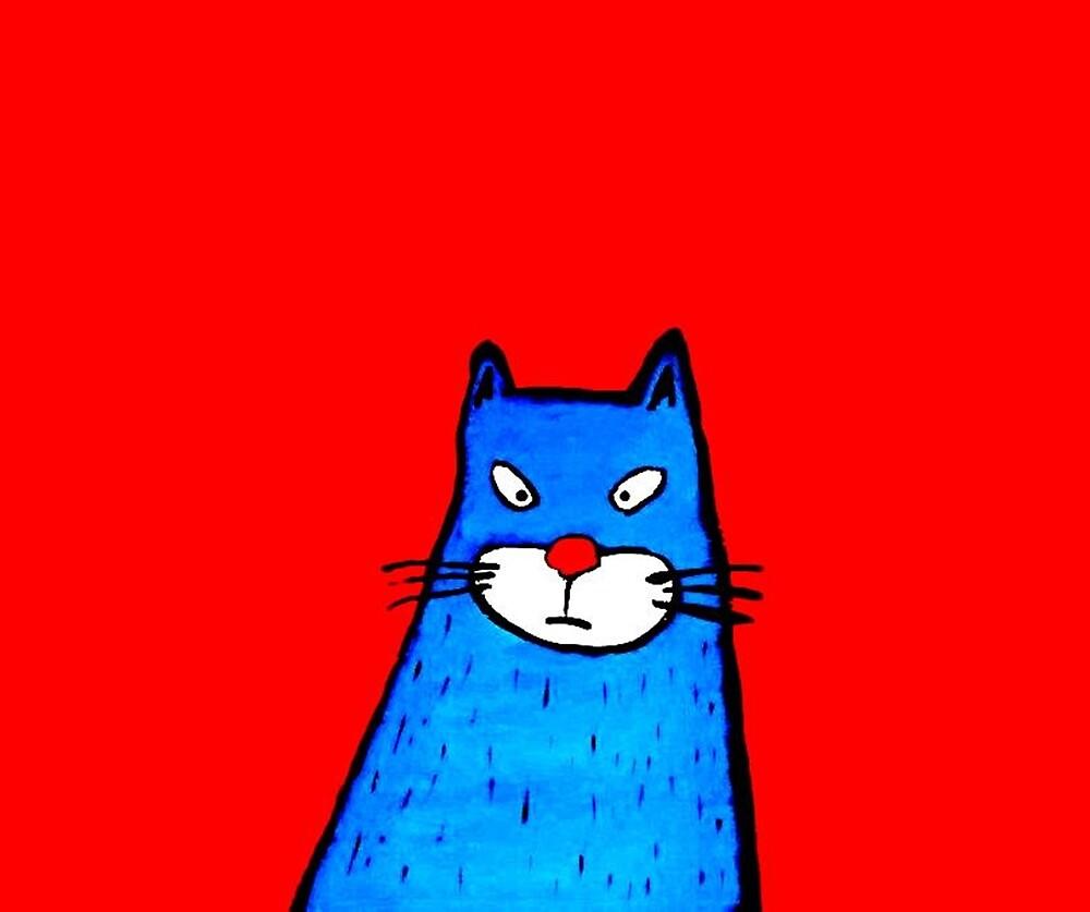IRRITATED CAT by paulvolker