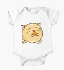 Fuzzballs Pizza Cat One Piece - Short Sleeve