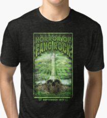 Horror of Fang Rock Tri-blend T-Shirt