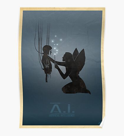 Steven Spielberg's A.I. Poster