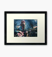 Portrait of Jaco Pastorius Framed Print