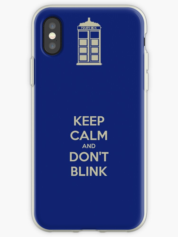 Dr. Who Phone Case by RedSn0wX