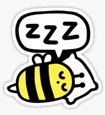 Slumber Bee Sticker