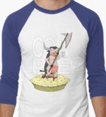 Cow-Pie Men's Baseball ¾ T-Shirt