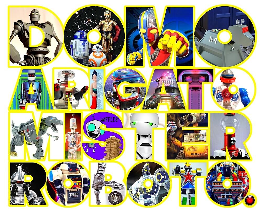 Domo Arigato Mister Roboto. by atomicthumbs78