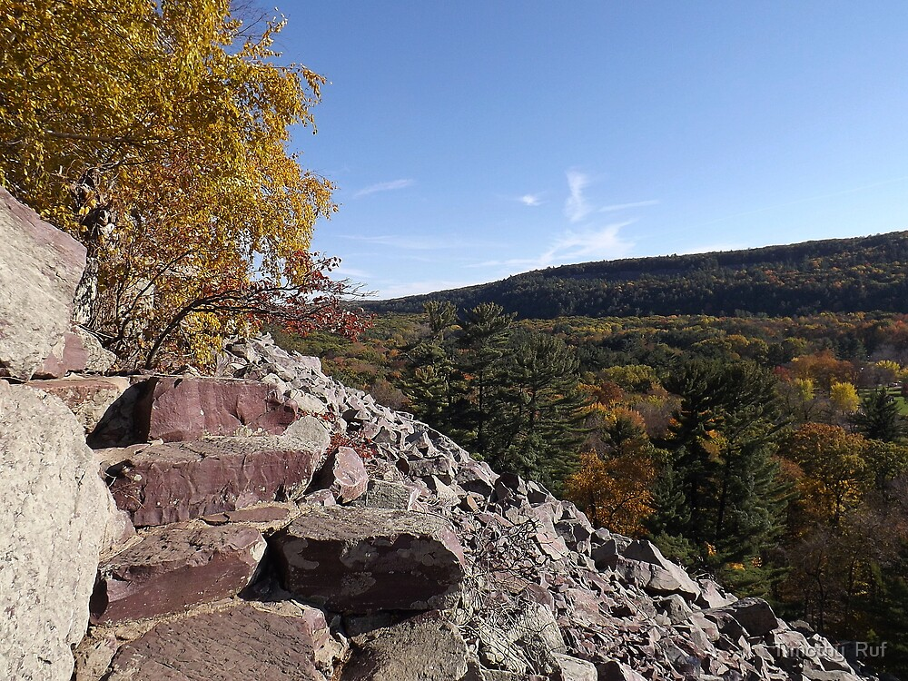 Rocky Steps - Devils Lake by Timothy  Ruf