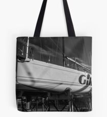 High and Dry BW Tote Bag