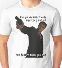 Camiseta unisex desde el atardecer hasta el amanecer
