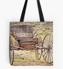 The Buckboard Bounce where West is West Tote Bag
