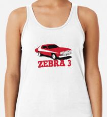 Zebra 3 Racerback Tank Top