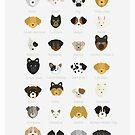 Dog's Breeds by Alice Bouchardon