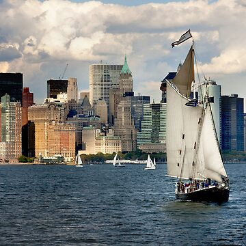 New York Sailing by mtsuszycki