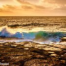 Sunrise wave by Chris Brunton