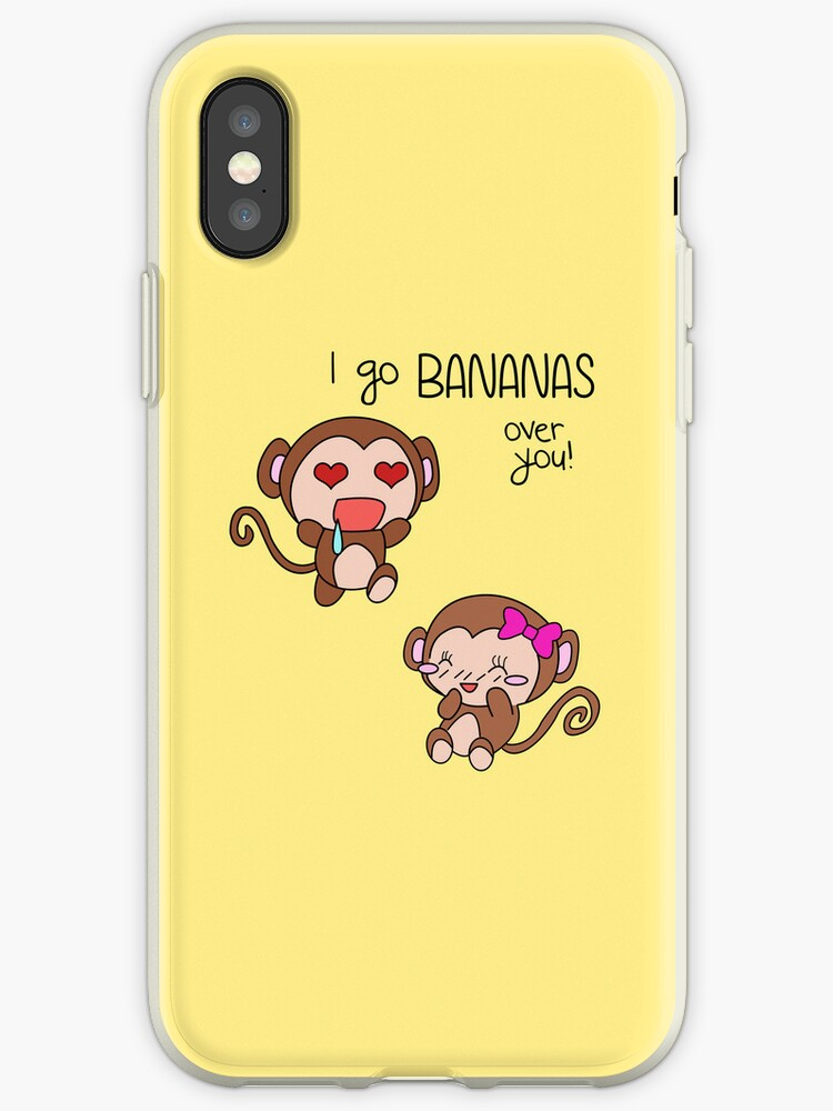 Valentines Day - I Go Bananas Over You (Monkeys) von charsheee