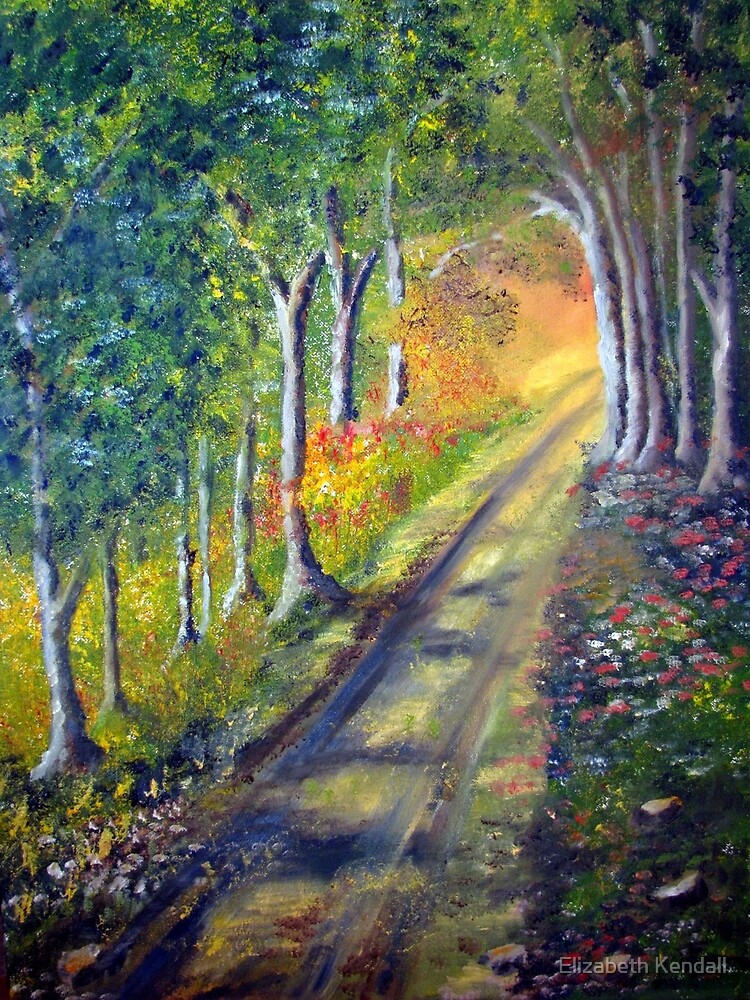Walking to the light by Elizabeth Kendall