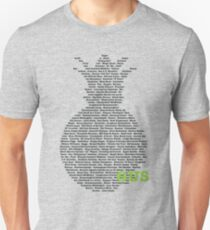 Gus's Nicknames 2 (Psych) Unisex T-Shirt