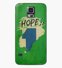 Hope!! (time machine) Case/Skin for Samsung Galaxy