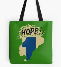 Hope!! (time machine) Tote Bag