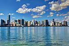 Miami Skyline 1/14 by Bill Wetmore
