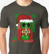 Minecraft Christmas Creeper  Unisex T-Shirt