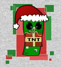 Minecraft Christmas Creeper  Kids Pullover Hoodie