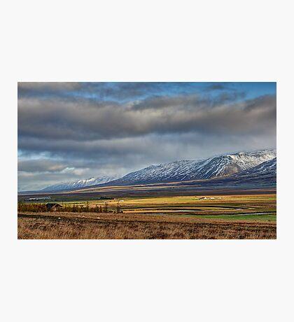 Icelandic Farmland Photographic Print