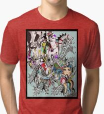 art of lust  Tri-blend T-Shirt