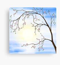 Cherry Blossom art photo print Canvas Print