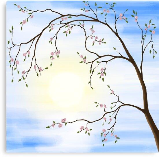 Cherry Blossom art photo print by ArtNudePhotos