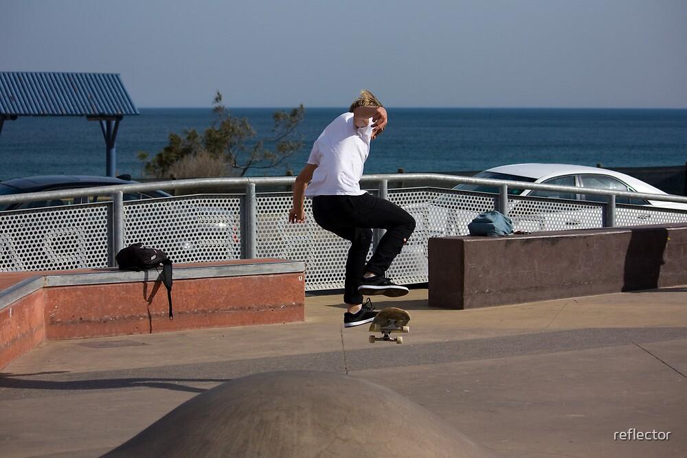 Frontside Flip - Empire Park Skate Park by reflector